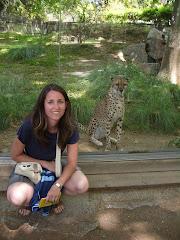 Laura con il gattino