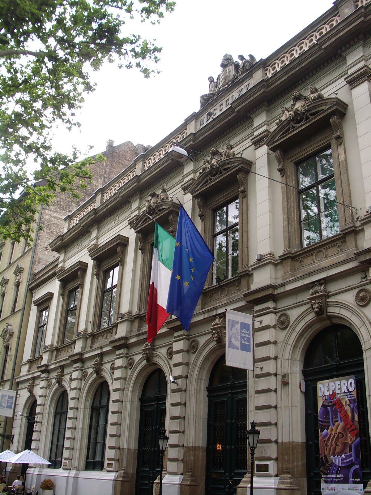 Eccomi istituto italiano di cultura a budapest for Istituto italiano