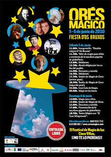 cartel I festival de Magia de las Cinco Villas