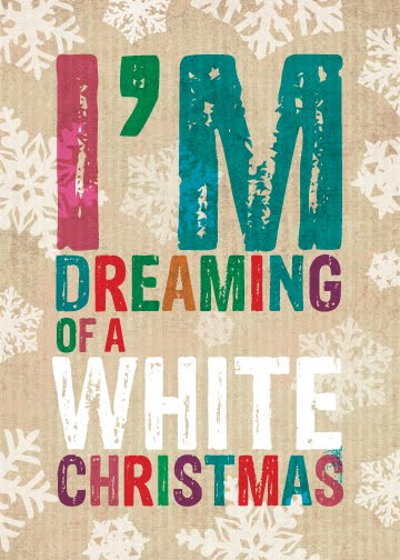 Paulo viveiros new wordy xmas designs for Who wrote the song white christmas