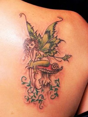 Meaning of fairy Tattoo for Women