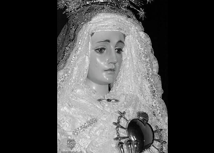 Nuestra Señora María Santísima de Dolores y Soledad, del cartel de lanjaróncofrade.com