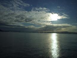 Solnedgang. Sunset.
