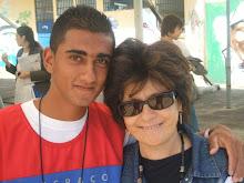 Foto Com  jornalista da Rede Globo Neide Duarte