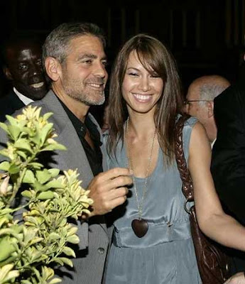Sarah Larson allegedly cheated on George Clooney.