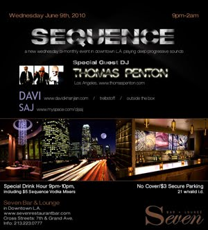 SEQUENCE with Thomas Penton :: 6-9-10