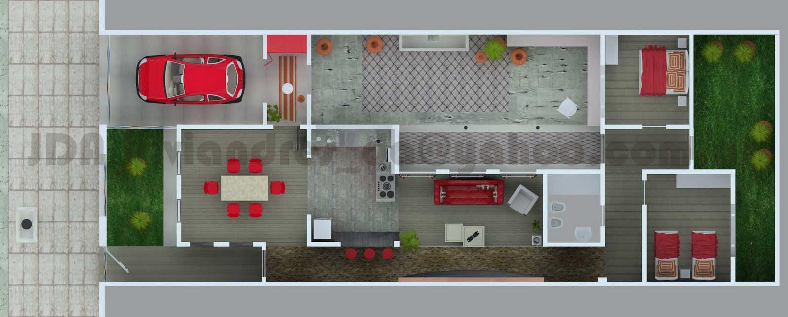 Arquitec maquetas remodelaci n 3d casa chorizo en baires for Casas viejas remodeladas