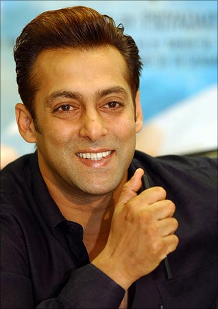 Salman Khan as action hero or