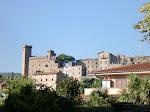 Castello'n i Bolsena, Italia.