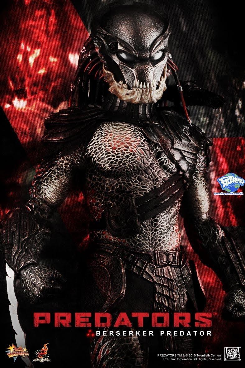 TOYZ CRAZI: New HT Berserker Predator