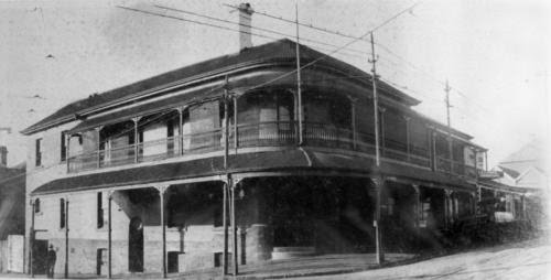 Your brisbane past and present prince alfred hotel for Queensland terrace state library