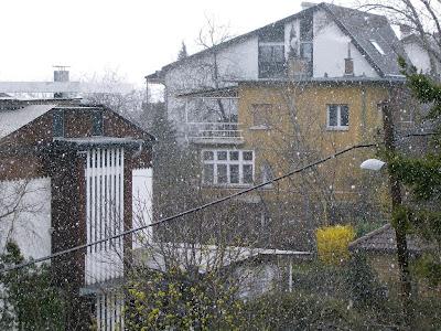hóesés márciusban
