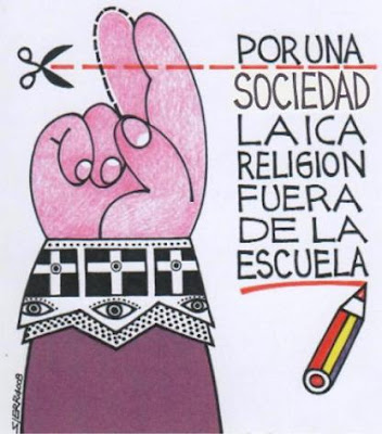 Por una sociedad laica. La religión fuera de la escuela