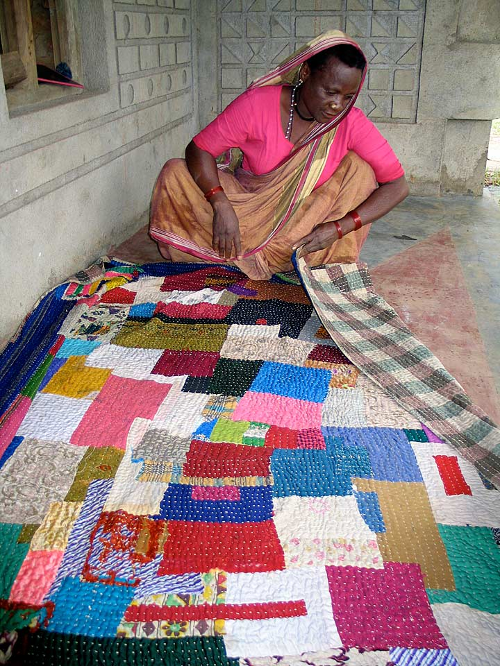 Patchwork Quilts Siddis India Art Found Out
