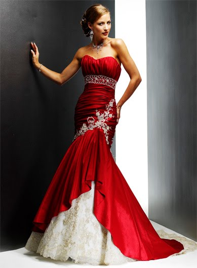 Black Rose Wedding Dresses : Is something about a wedding gown prettier than in any other