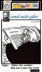 """""""DÜN""""ün KARİKATÜRÜ"""