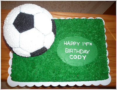 Crazy About Cakes Codys Soccer Ball Cake
