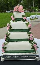 Kari's Wedding Cake