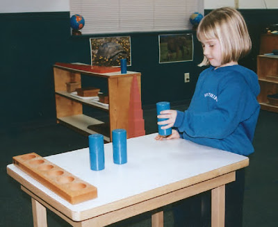 NAMC montessori sensorial activities materials for sensory perception disorder