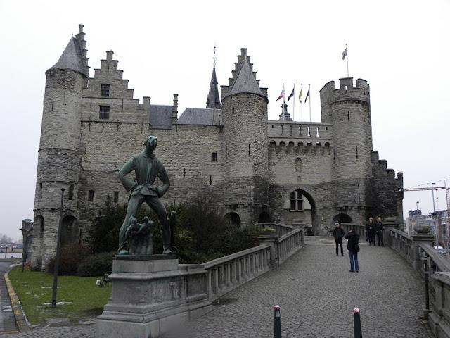 Antwerpen Antwerp Quays Het Steen Kaaien Demuinck Pardon
