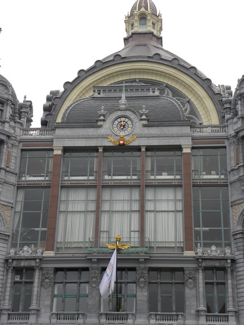 Central Station Antwerp Demuinck Pardon Centraal