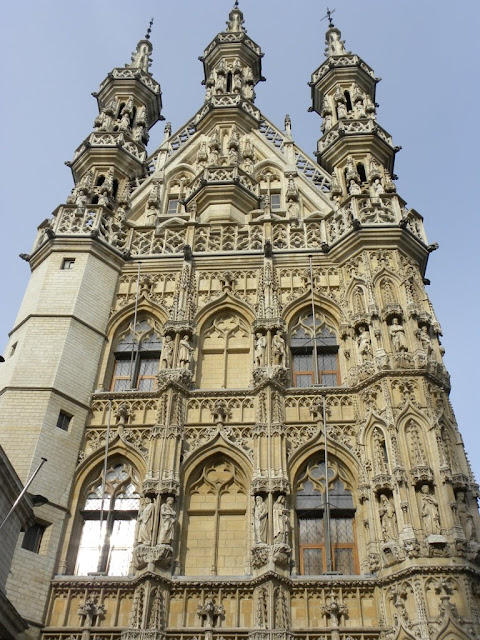 Town Hall Leuven Stadhuis Demuinck Pardon