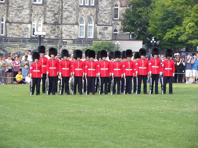 Change of the Guard Ottawa