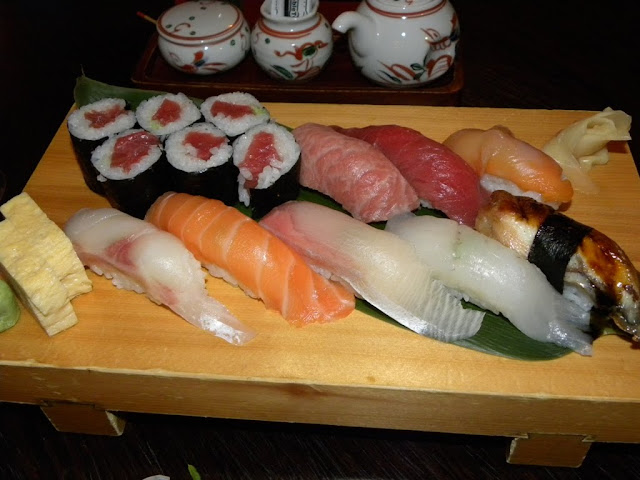 Nigri Sushi combination