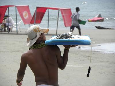 Beach Cartagena Colombia