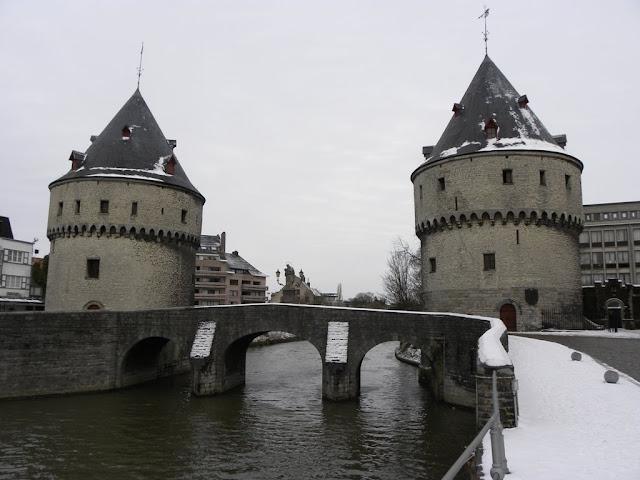 Broel torens Kortrijk