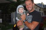 Carl and baby Max