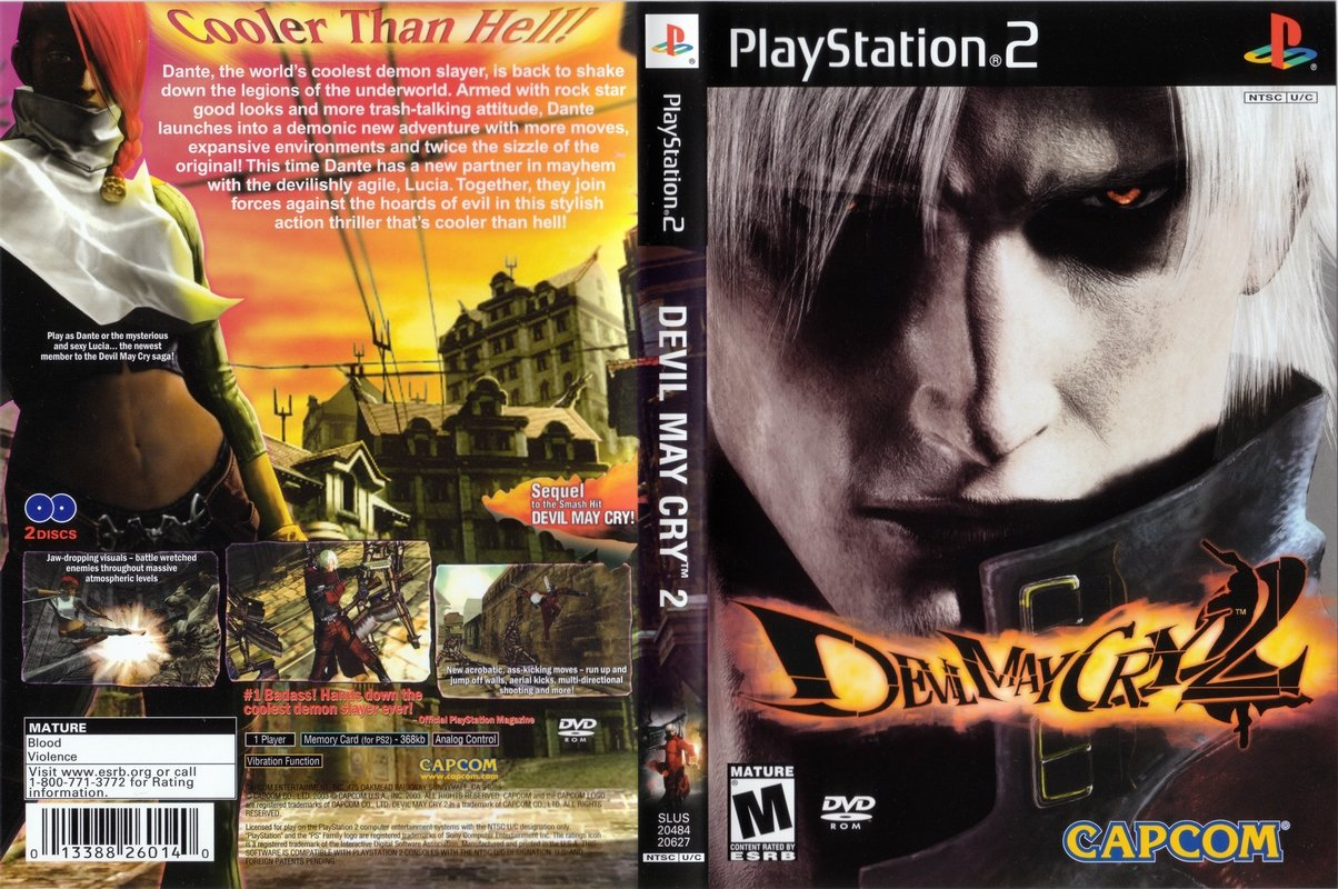 PS2 GAME-Devil May Cry 2