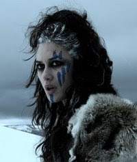 Olga Kurylenko is a Pict warriot in the movie Centurion.