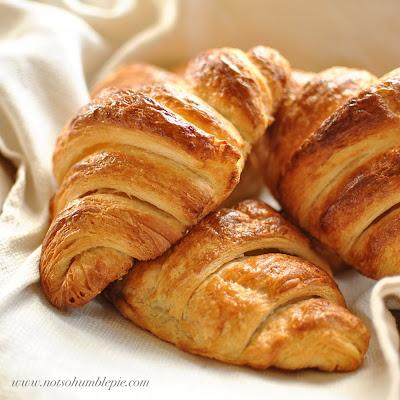 Not So Humble Pie: Croissants: Part One