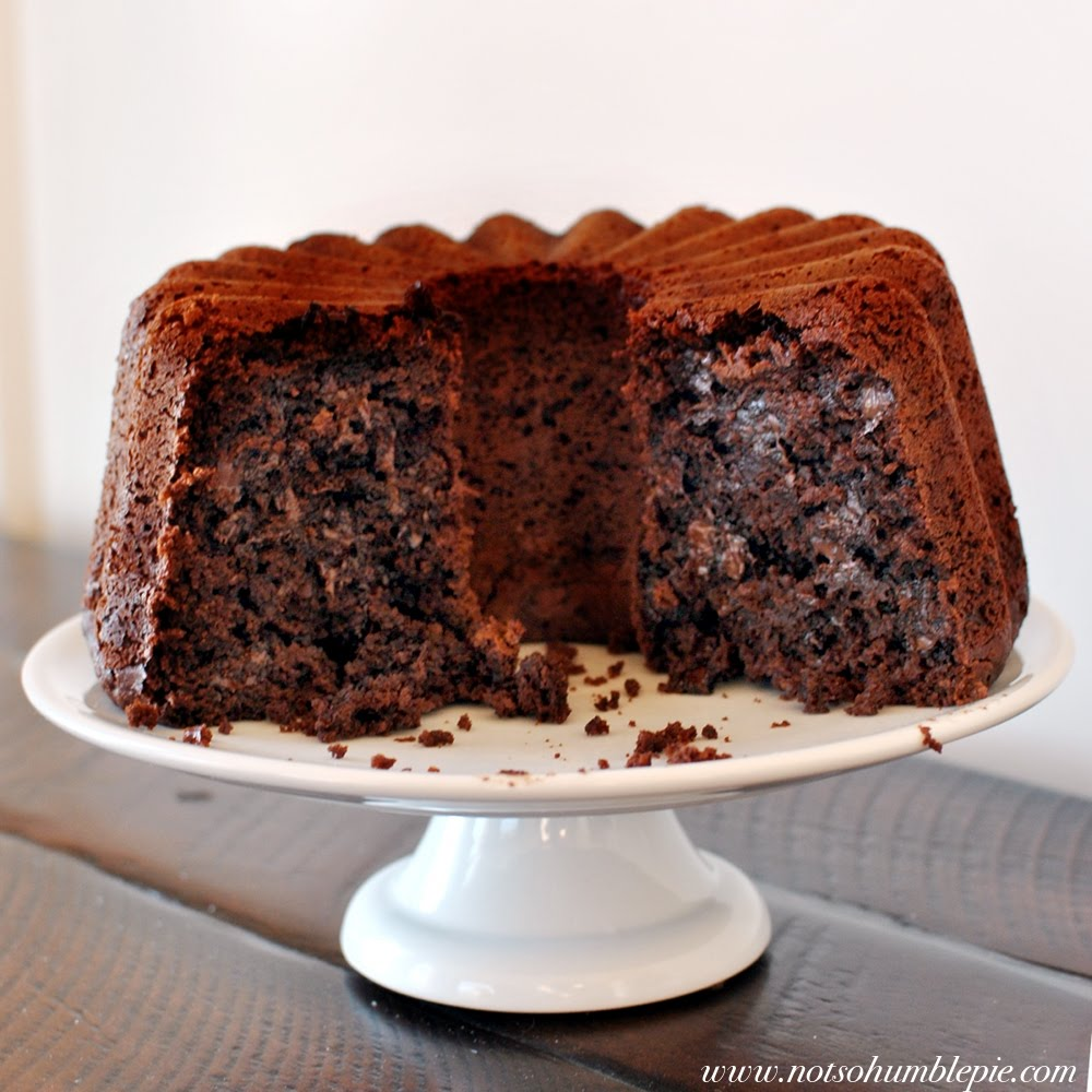 Not So Humble Pie: Steamed Chocolate Pudding