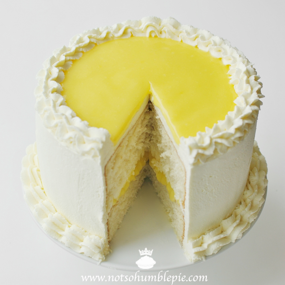 Not So Humble Pie: Lemon Mascarpone Cream Cake