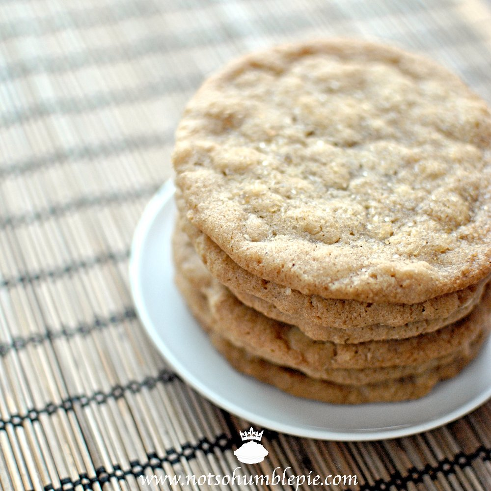 Not So Humble Pie: Oatmeal Ice Cream Sandwiches