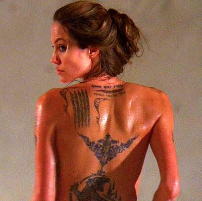 New best tattoo design angelina jolie tattoos