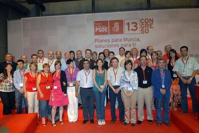 La nueva Ejecutiva Regional del PSRM