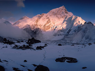 photos of Mount Nuptse Himalaya Mountains Nepal pictures
