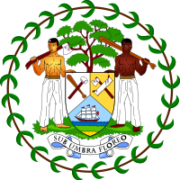 BELIZE'S COAT OF ARMS
