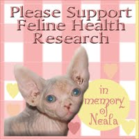 Support Feline Health Research!