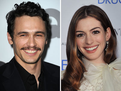 Anne Hathaway and James Franco will co-host the 83rd Academy Awards on