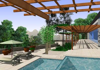 Google sketchup un programa para dise ar jardines en 3d - Disenar tu propia casa ...
