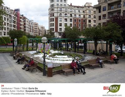 Exposicion jardines bilbao