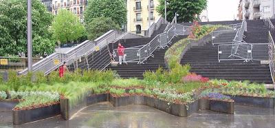 Jardin Diana Balmori Bilbao