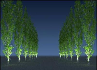 Luminarias jardín
