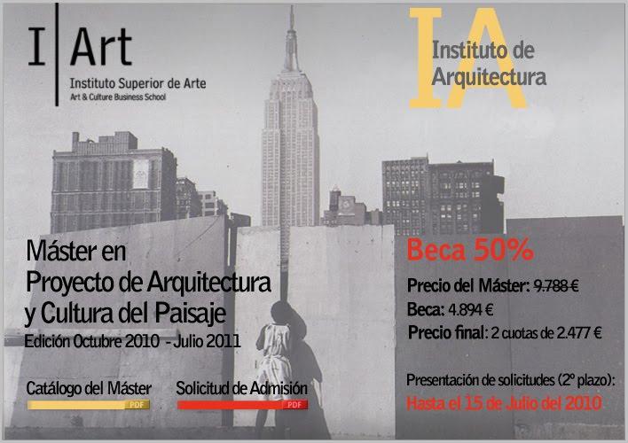 Master en proyecto de arquitectura y cultura del paisaje - Master en paisajismo ...