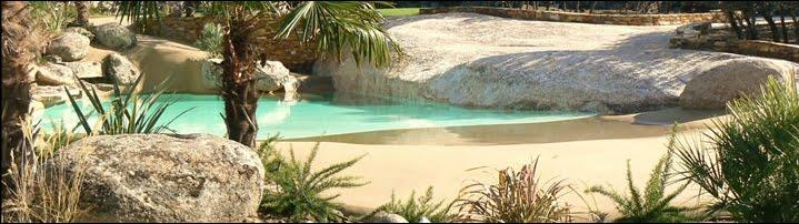 Piscinas de arena lleva la playa a su casa jardiner a y paisajismo paisajismo sostenible - Piscinas de arena opiniones ...