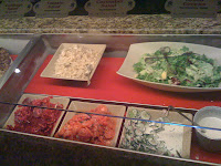 Cold buffet items